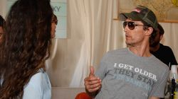 LOOK: Matthew McConaughey Wears 'Dazed And Confused'