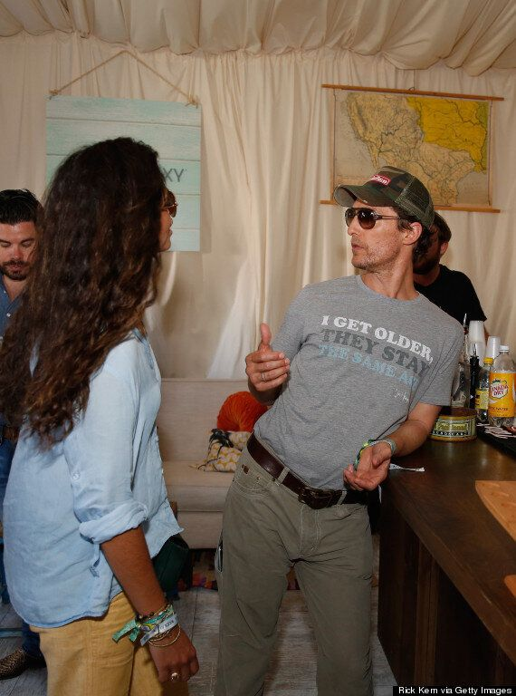 Matthew McConaughey Wears 'I Get Older' 'Dazed And Confused'