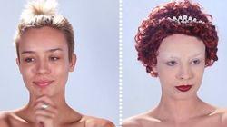 WATCH: Women's Makeup Through