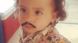 Toddler's Pablo Escobar Costume Goes Way Too