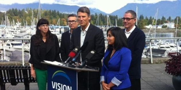 Vancouver Election 2014: Gregor Robertson Focuses On Pipeline Fight As Big Part Of