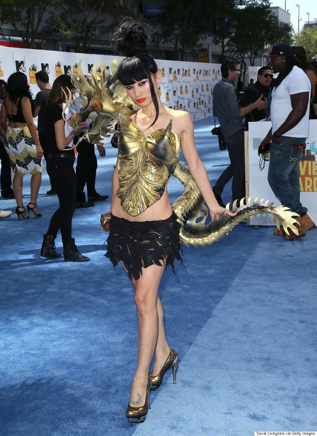 Bai Ling's MTV Movie Awards 2015 Dress Is Literally A