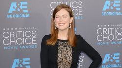 Julianne Moore's Never Worn A Dress Like This