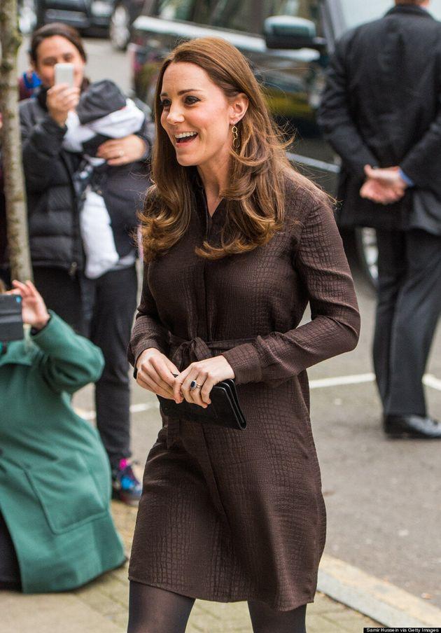Kate Middleton Takes A Fashion Risk In Crocodile Print