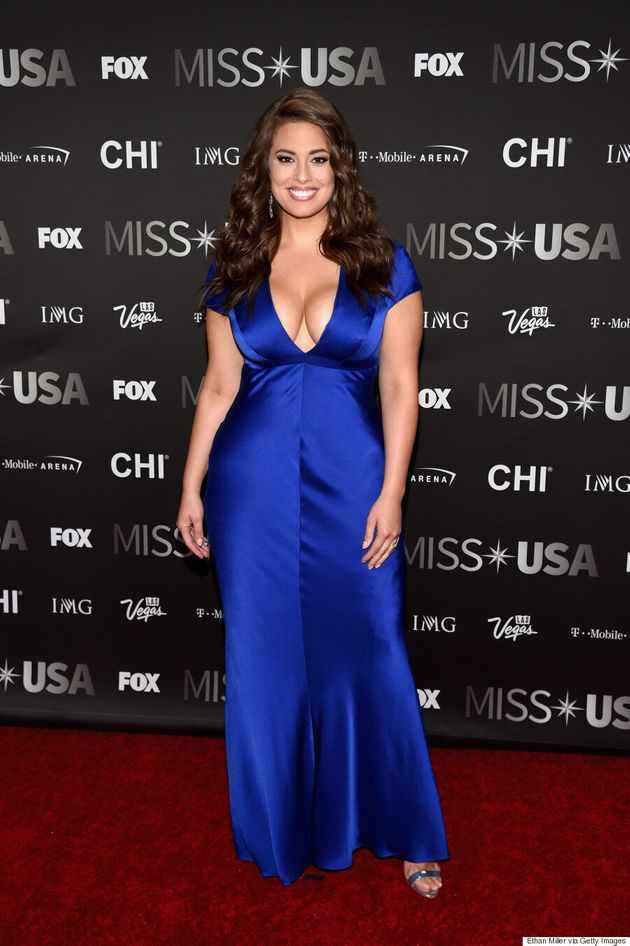 Ashley Graham Wants To See More Plus-Size Women At Miss USA