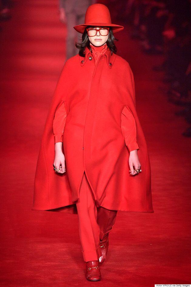 Hari Nef Makes Milan Fashion Week Debut At Gucci Menswear