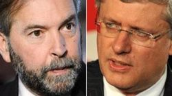 Mulcair To Harper: Speak Out About Blogger Sentenced To