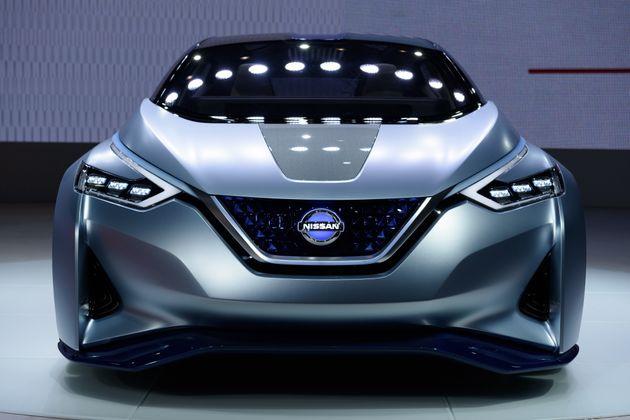 Green, Self-Driving Cars Take Over Tokyo Motor