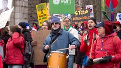 Quebec City Protesters Rally For Government Action On Climate