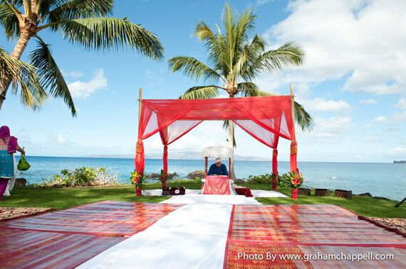 Married in Maui: Indian Destination Weddings on the