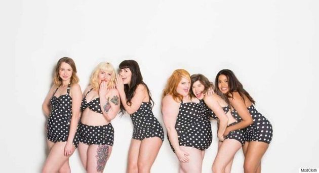 ModCloth Enlists Its Employees To Star In New Swimsuit Ad, Proves Beauty Comes In All