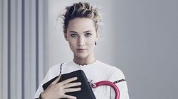 JLaw Looks Stunning In New Dior