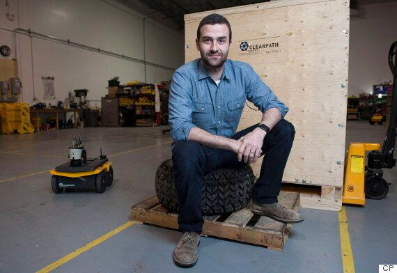 Clearpath Robotics, Kitchener-Based Company, Is Building A Robotic