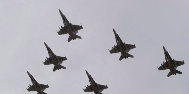 Canadian Airstrikes Against ISIL Targets