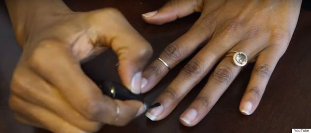 Franchesca Ramsey Uses Nail Tutorial To Demonstrate Oscars' Diversity