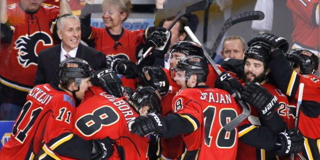 Calgary Flames Make The NHL Playoffs After 6 Long