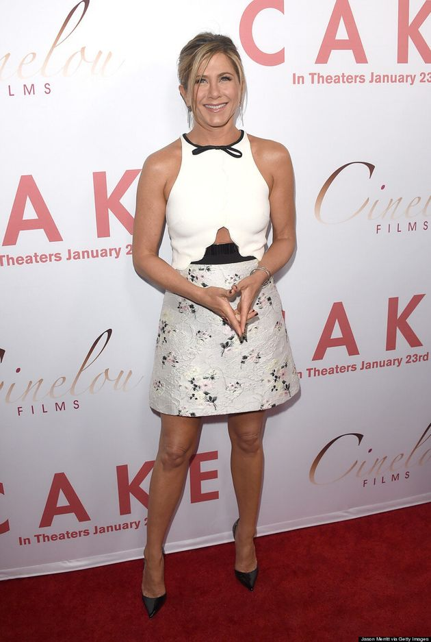 Jennifer Aniston Reveals Some Skin In Cutout
