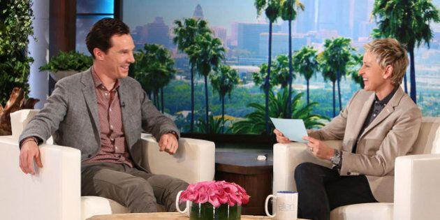 Benedict Cumberbatch Looks Adorable On