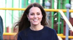 Kate Middleton Sports Cute Maternity