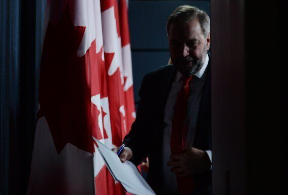 NDP Leader Tom Mulcair Still Motivated, Will Continue To Work For Party