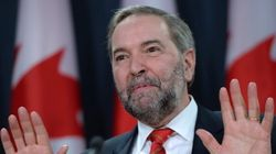 Mulcair Says He Is Taking Nothing For