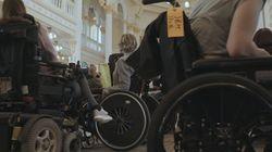 En fauteuil roulant... le temps d'une