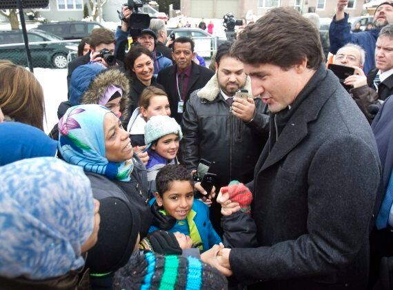 Trudeau Visits Peterborough Mosque That Was Set On