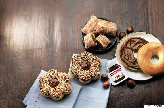 Nutella Tim Hortons Collaboration Is The Collaboration Foodies Have Been Waiting