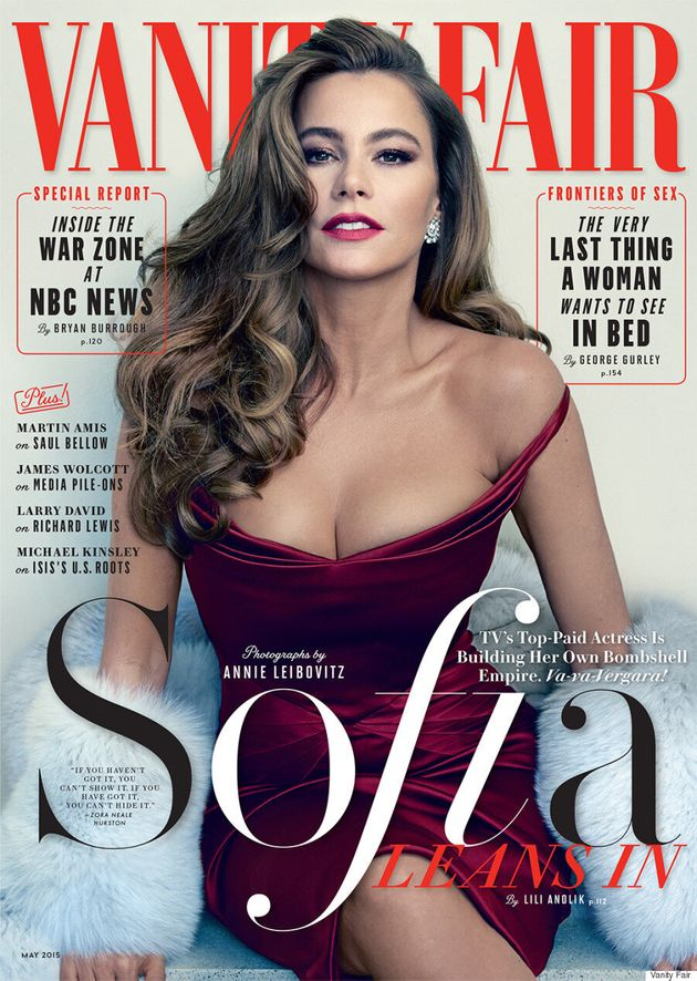 Sofia Vergara Is A Vision In Red On The Cover Of Vanity