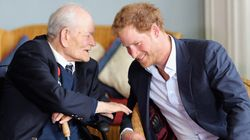 A 91-Year-Old War Veteran Just Schooled Prince Harry In