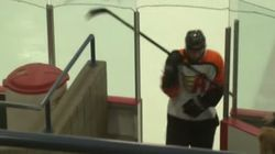 Karma Came Around VERY Quickly For This Hockey