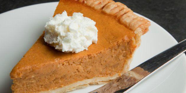 Pumpkin pie slice H