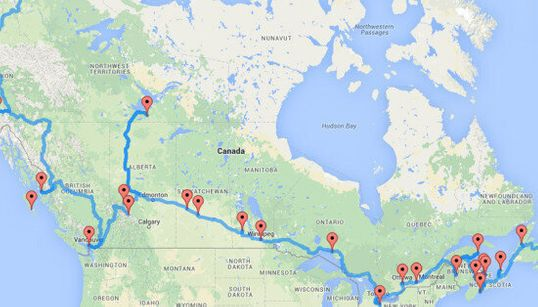 This Is The Ultimate Cross-Canada Road