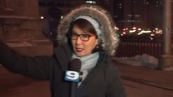 Reporter Has Some Honest Cold Weather Advice For