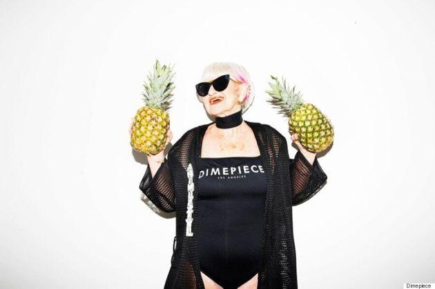 86-Year-Old Instagram Star, Baddie Winkle, Is The 'Baddest Bish' In Dimepiece LA