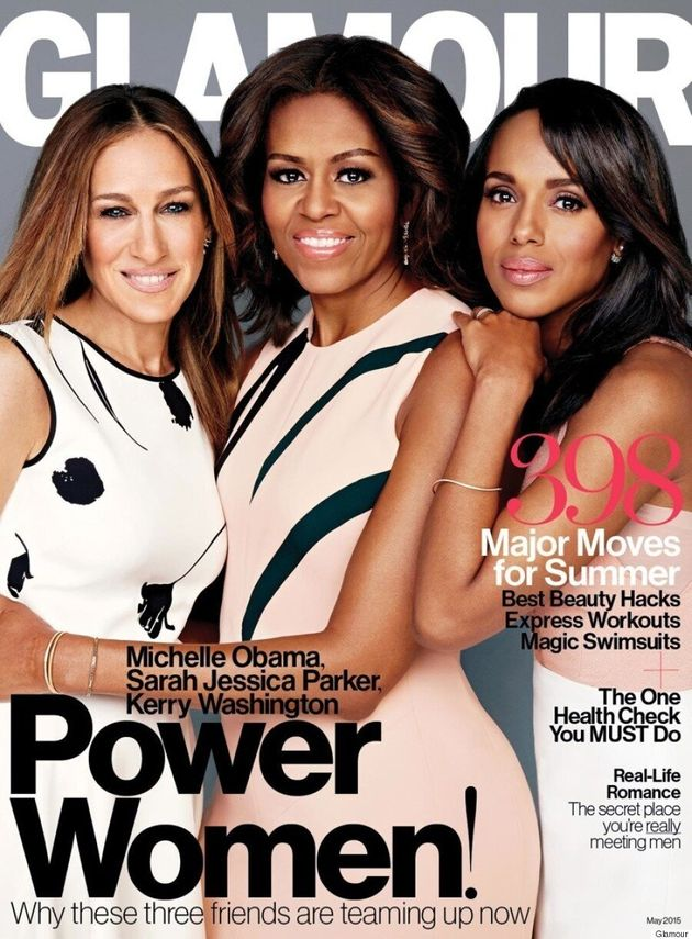 First Lady Michelle Obama, Kerry Washington And Sarah Jessica Parker Come Together For Glamour