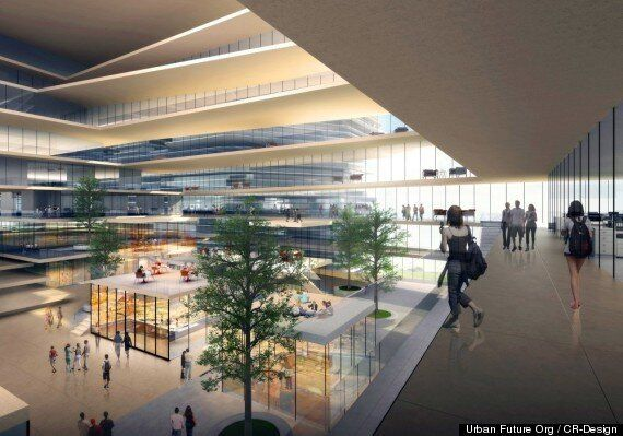 Cloud Citizen, Futuristic 'Super City,' Wins Contest For New Shenzhen Business