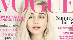 Emilia Clarke Channels Khaleesi On The Cover Of Vogue