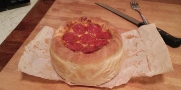 Pizza Cake: This Person Tried The Recipe And It Looks Incredibly