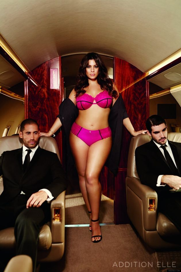 Ashley Graham's New Addition Elle Lingerie Campaign Is First-Class