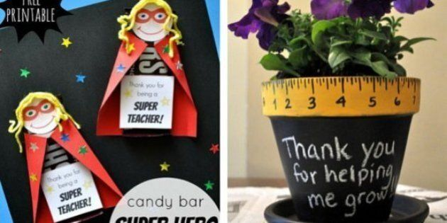 Teacher Gifts: 14 Crafts That Say 'Thank