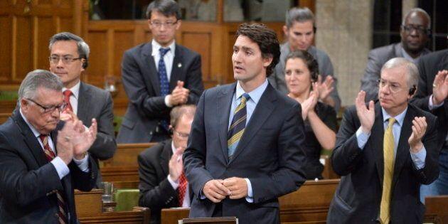 Justin Trudeau's Speech Against Iraq Combat Mission (FULL