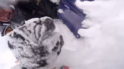 Avalanche Buries B.C. Snowmobiler Who Records His Own