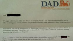Dad Denies Son An Advance On His Allowance With Cheeky