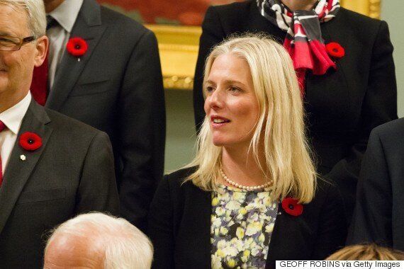 Catherine McKenna, Environment Minister, Turns Off Her Phone For