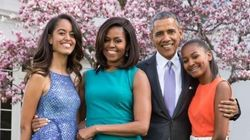 LOOK: Michelle Obama And The First Family's Colourful Easter