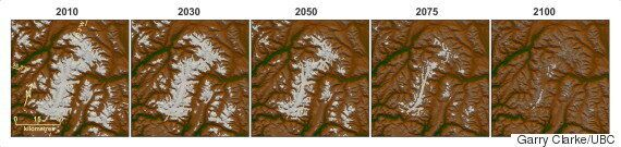 B.C., Alberta Glaciers Predicted To Shrink By Up To 80% In Next Century: