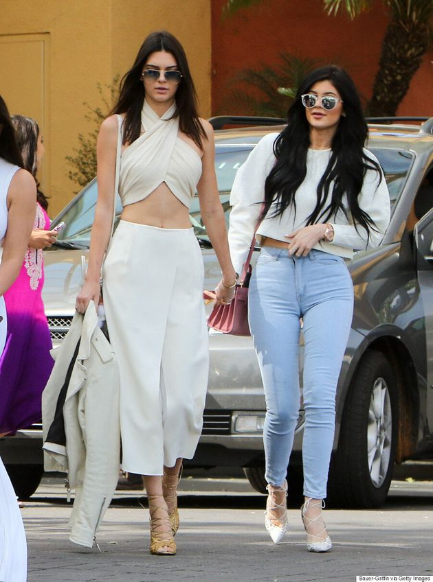 Kendall Jenner Wears A Crop Top To Church For Easter