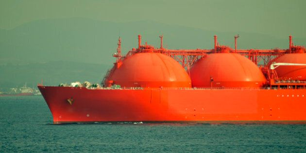 Oil and gas industry - liquefied natural gas tanker