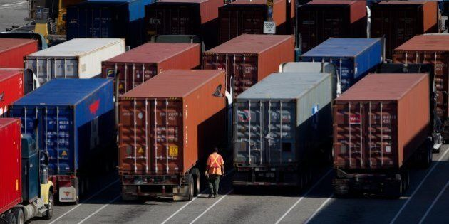 Canada Swings To $610-Million Trade Deficit, From $2.2-Billion